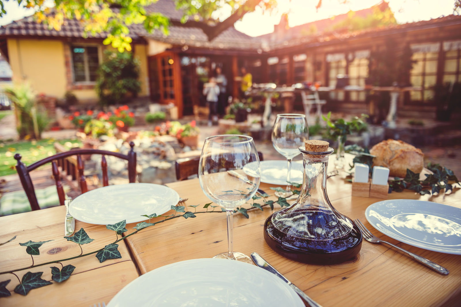 repas ami soiree preparation reception